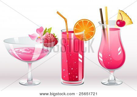 berries cocktails