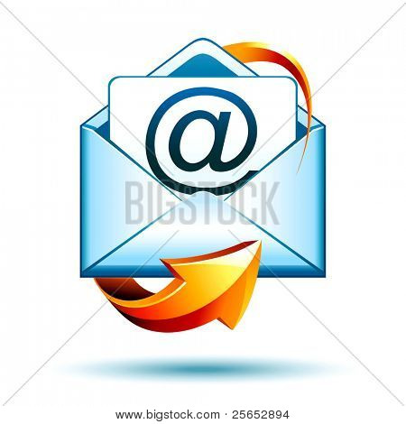 icono de correo de e