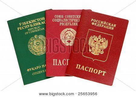 Russian, Uzbekistan And Old Ussr Passports