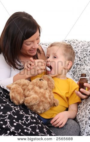 Child And Syrup