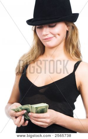 The Girl And Money