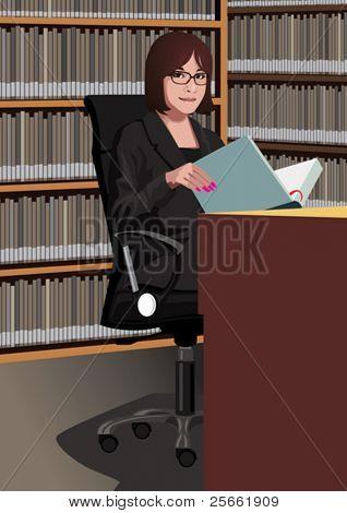 Profession set: librarian