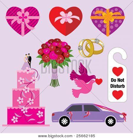 Wedding design elements