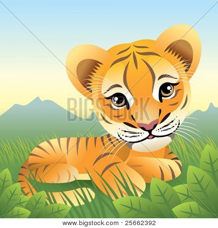 Baby Animal collection: Tiger  More baby animals in my gallery.