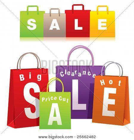 Verkauf-Einkaufstaschen