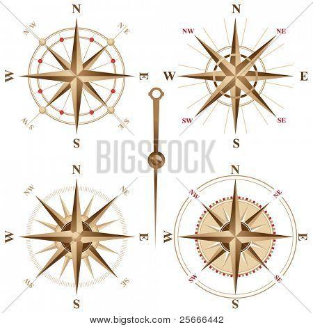 4 compases vintage