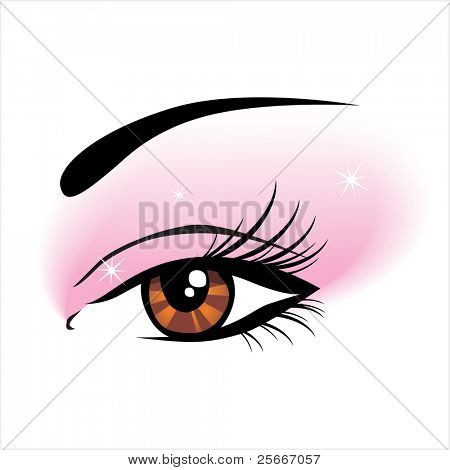 girls eye