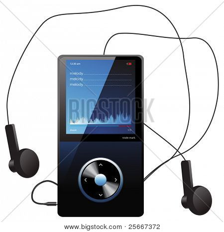 mp3 player - Original design