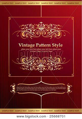 vintage pattern style