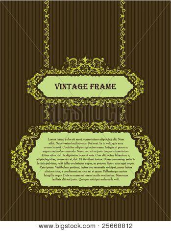vintage template