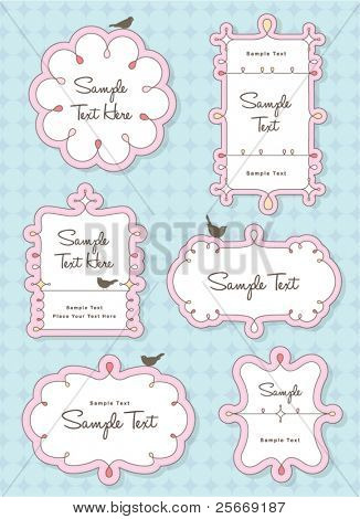 vector frame set