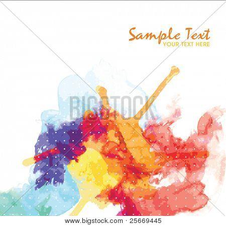 colores de fondo acuarela