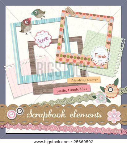 Gästebuch-Elemente