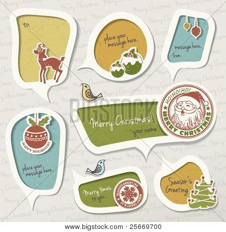 Weihnachts-Geschenk-tag