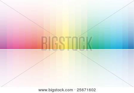 Blured farbigem Hintergrund