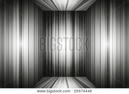 Empty Gray Interior Background