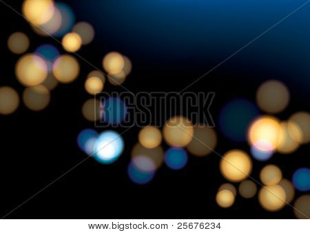Image of abstract background and blurry light