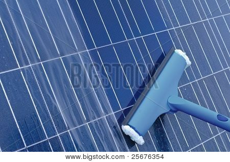 Cleaning Of Solar Panels