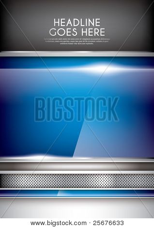 vector of abstract metallic background