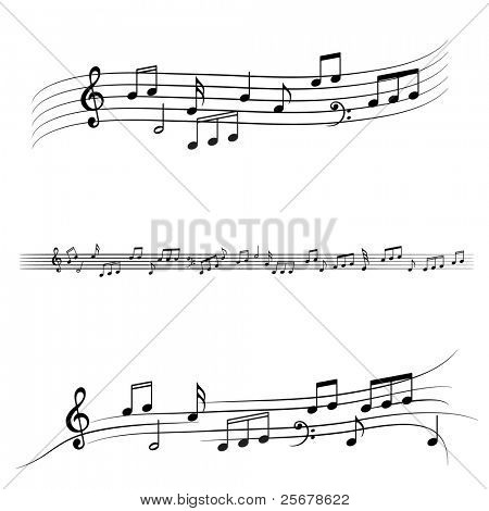Music notes â?¢ Find more music notes in my portfolio â?¢