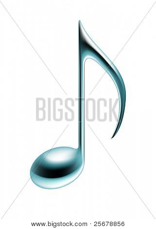 Music note (Vector)
