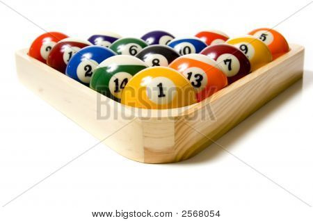 Pool Or Billiard Balls