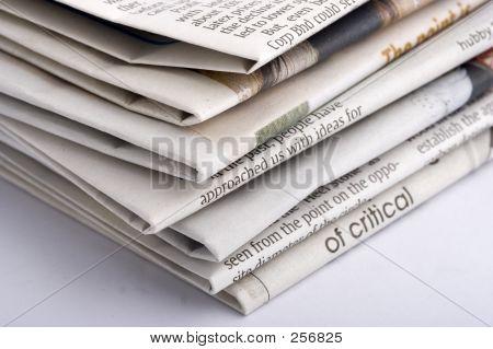 Gestapelte Papier