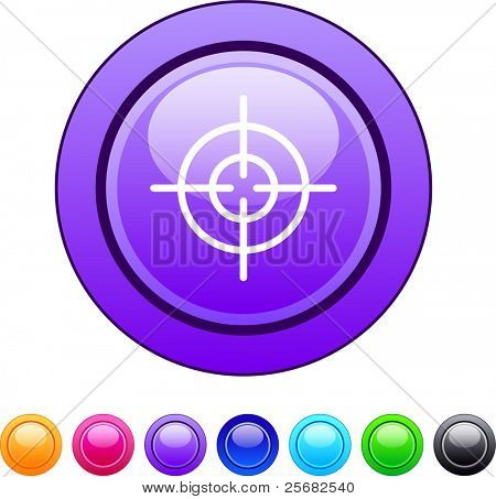 Sight glossy circle web buttons.