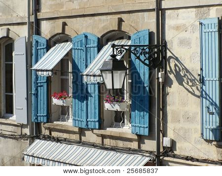 Windows in Provence