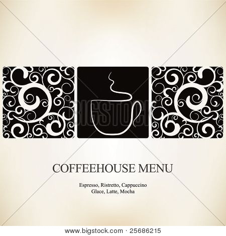 Vector. Restaurant or coffee house menu design