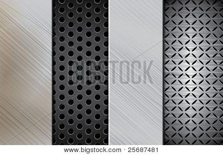 Template of metal plate