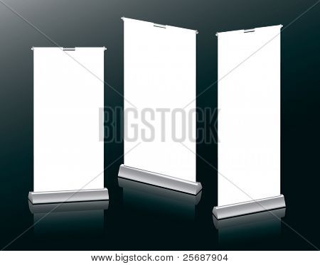 Banner Stands in your design