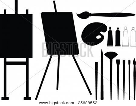 Painter tool vector