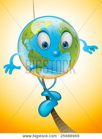 Balanced Earth avoiding global warming