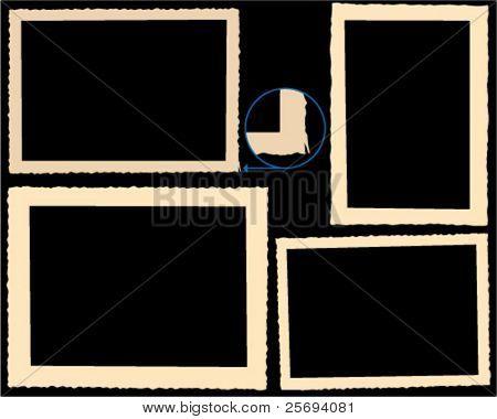 Vector illustration of a album-frame