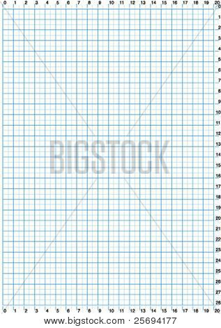 Vector illustration of a centimeters pattern