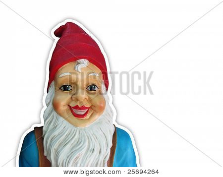 Funny dwarf gnome