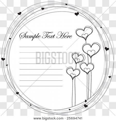 Cute black & white harmony template
