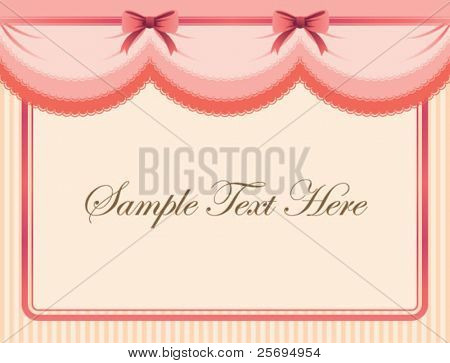 Cute Ribbon template