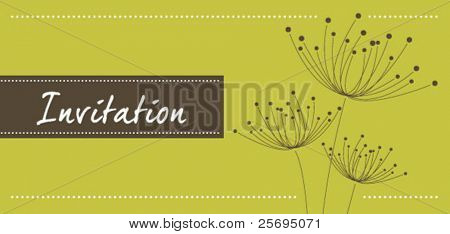 dandelion invitation template 03