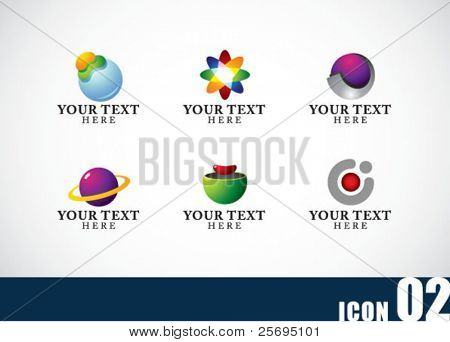 Icon template set 02