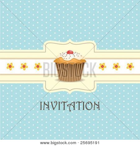 cupcake invitation background 03