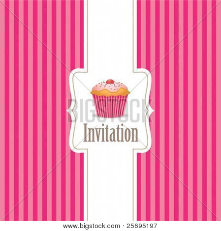 cupcake invitation background 01