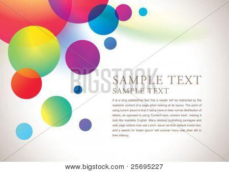 Abstrakt farbigen Hintergrund