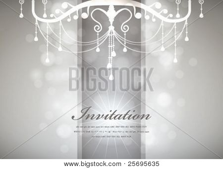Luxury Chandelier background 03