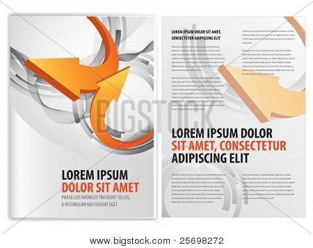 Vektor Business Broschüre (Broschüre)-template
