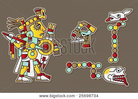 Conjunto de vectores Maya