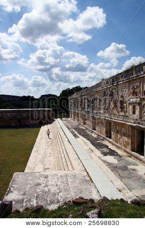 Ancient mayan disruption
