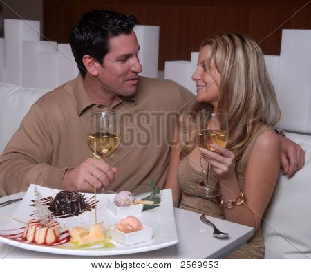 Attractive Couple Enjoying A Date