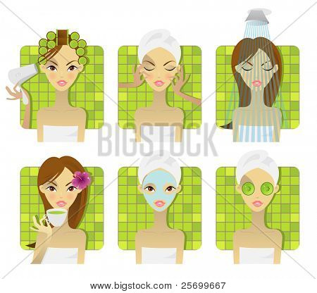 SPA, health and beauty set, you can find the same in my gallery